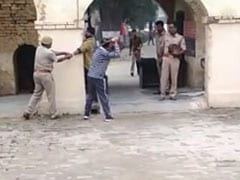 On Camera, UP Cops Pin Man, Thrash Him With Belt For Eloping