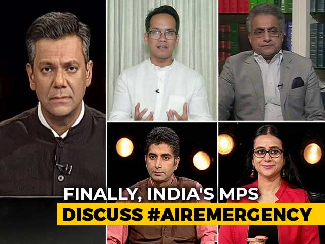 Video : Parliament Debates Pollution: Will Netas Clear The Air On Solutions?