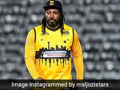 """Not Going To Get Respect"": Chris Gayle Bids Emotional Goodbye To Mzansi Super League"