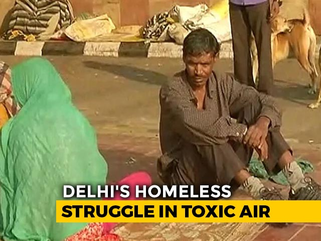 Video : Delhi's Unforgiving Smog Proves Worst For Those With The Least