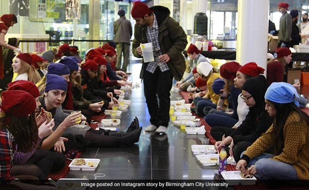 UK University Organizes Langar For Guru Nanak Birth Anniversary