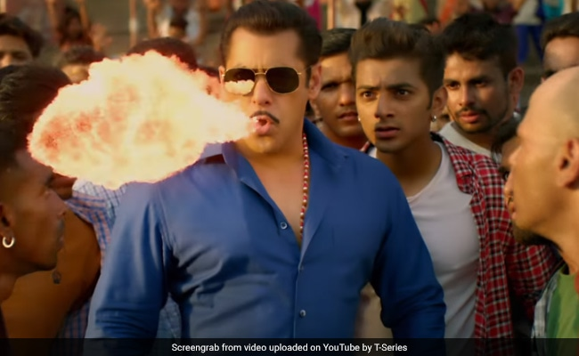 Salman Khan's Dabangg 3 Song Hud Hud Dabangg: Fire-Breathing Chulbul Pandey Returns With New Hook-Step