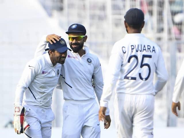 India vs Bangladesh: Wriddhiman Saha Grabs Sensational Catch, Goes One Better Than Rohit Sharmas Stunner