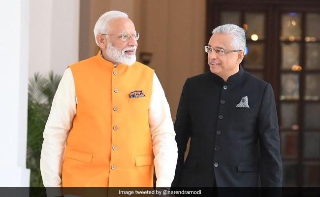 PM Modi Congratulates Mauritius PM Pravind Jugnauth On Electoral Victory