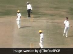 16 साल के तेज गेंदबाज नसीम शाह ने लिए 6 विकेट, ऑस्ट्रेलियाई बल्लेबाजों को दे डाली