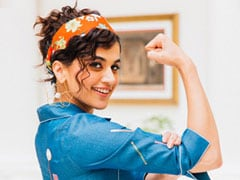 """Taapsee Pannu: """"Fitness Isn't Only About Looking Good, But Feeling Good Too"""""""
