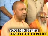 Video : UP Minister Swati Singh Summoned By Yogi Adityanath After Audio Threatening Cop Surfaces