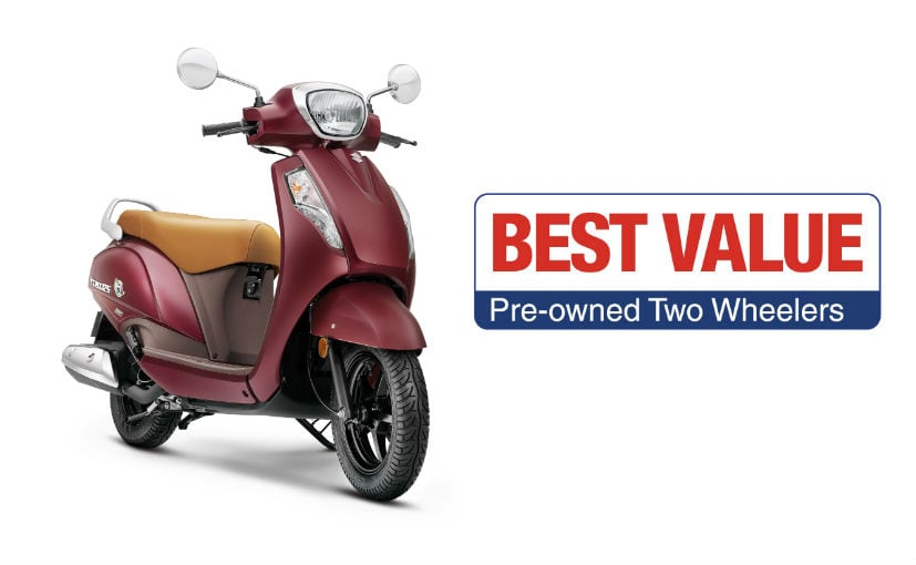 The pre-owned Suzuki two-wheelers undergo 120 checks before being certified Best Value