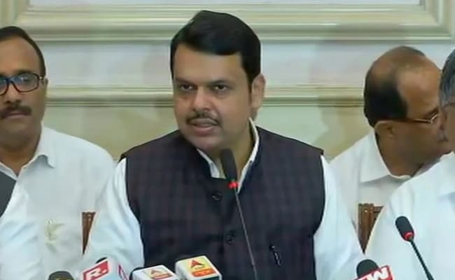''Hypocrites'': Devendra Fadnavis On Parties Supporting Farmers' Protest