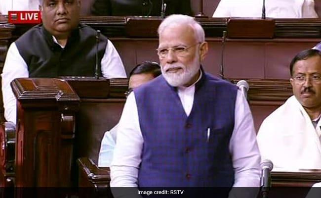 राज्यसभा में बोले PM मोदी- सदन में रूकावट के बजाय संवाद का रास्ता चुनना चाहिए