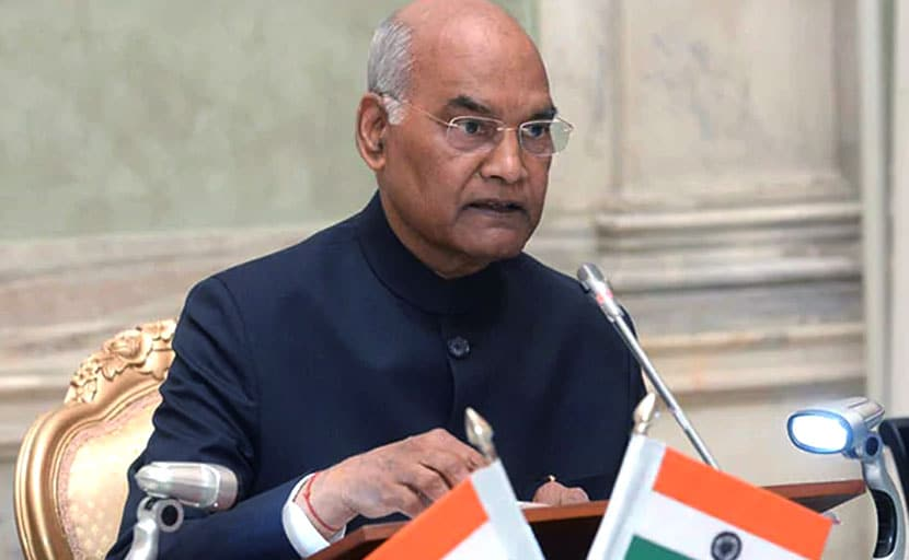 Develop Training Courses For Caregivers: President Ram Nath Kovind To Healthcare Institutes