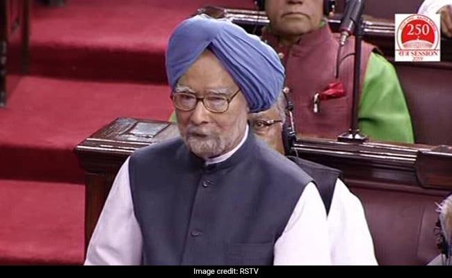 'Rajya Sabha Must Have Greater Say In Redrawing State Boundaries': Manmohan Singh
