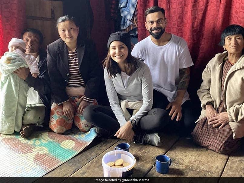 "Virat Kohli, Anushka Sharma Amazed By ""Pure Human Connection"" With Locals On Vacation"