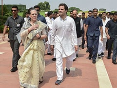 Congress Walkout In Lok Sabha Over Withdrawal Of SPG Cover To Gandhis