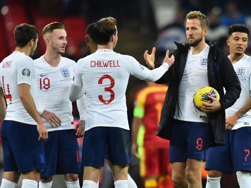 England Batter Montenegro To Reach Euro 2020 In Style