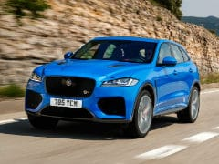 Jaguar F-Pace SVR Coming To India; Dealers Accepting Bookings