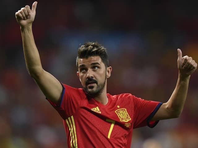 Spains All-Time Top Scorer David Villa Announces Retirement