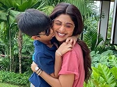 Children's Day 2019: Shilpa Shetty's Post For Son Viaan Is All About 'Hugs And Wet Kisses'