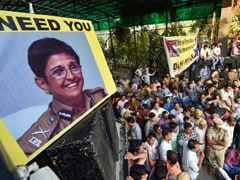 """They Need To Be Protected By Seniors"": Kiran Bedi After Cops' Protest"