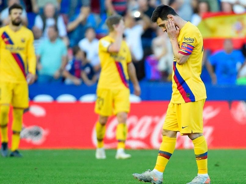 Levante vs Barcelona: Levante Stun Barcelona To Register 3-1 Win In La Liga