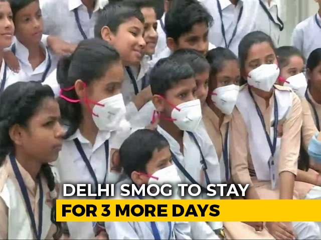 Video: Delhi A 'Gas Chamber', Says Arvind Kejriwal; Government Distributes Masks
