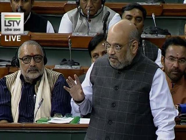Video : 'Protectee Rides Bike At 100 km/hr': Amit Shah In Parliament On SPG Row