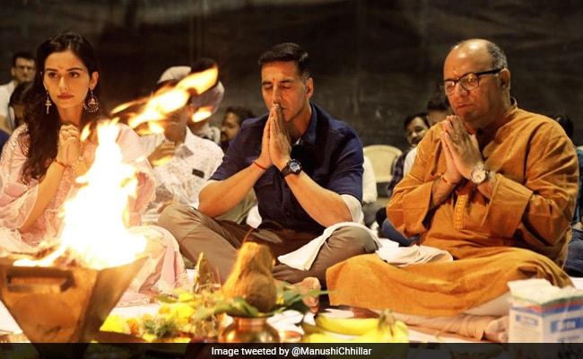 Prithviraj: Manushi Chillar 'Feeling Blessed' About Bollywood Debut With Akshay Kumar And Yash Raj Films