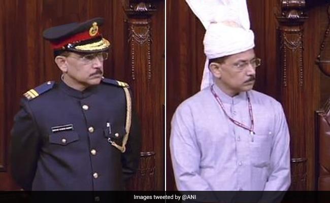 Rajya Sabha Marshals Drop 'Military-Style' Cap Amid Row Over New Uniform
