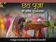 Happy Chhath Puja: How Leaders Greeted Devotees On Dala Chhath