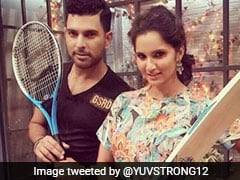 "Sania Mirza's Reply To Yuvraj Singh's ""Hai Hai Mirchi"" Birthday Wish Is Comedy Gold"