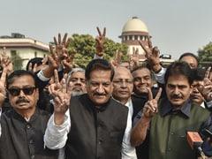 """Slap For Their Masters In Delhi"": Congress After Devendra Fadnavis Quits"