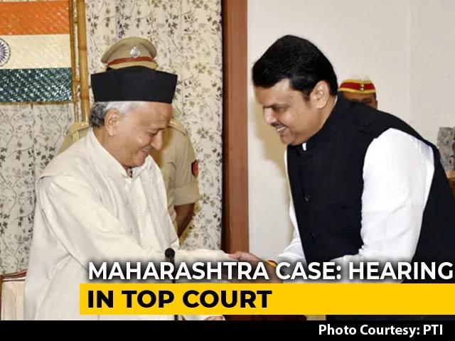 Video : 170 vs 154: BJP, Sena-NCP-Congress Claims On Maharashtra In Supreme Court