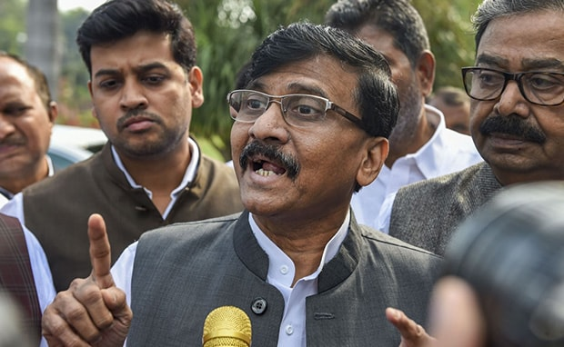 """He Needn't Worry About Us"": Sena's Sanjay Raut Snubs Union Minister Ramdas Athawale"