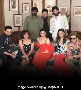 Seen This Blockbuster Pic Of Deepika, Ranveer, Alia And Other Stars?