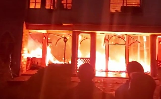Elderly Couple, Pet Dog Die As Fire Destroys 117-Year-Old Shillong Church