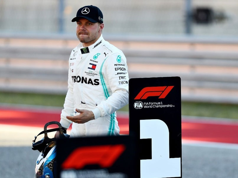 Valtteri Bottas Takes United States Grand Prix Pole As Title-Chasing Lewis Hamilton Suffers Setback