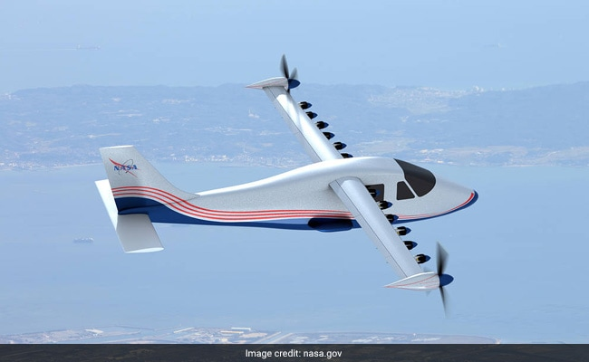 Nasa unveils first electric jet