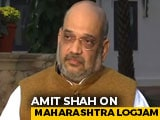 "Video : ""Couldn't Accept Sena's Demands,"" Says Amit Shah On Maharashtra Turmoil"
