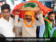 बीजेपी के बागी उम्मीदवार सरयू राय को JMM का समर्थन, हेमंत सोरेन बोले- BJP का असली चेहरा सामने आया