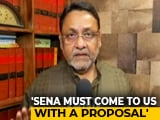 "Video : ""Shiv Sena Needs To First Exit From The NDA"": NCP's Nawab Malik"