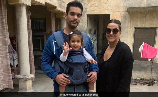 First Pic Of Neha Dhupia And Angad Bedi's Daughter Mehr Is Breaking The Internet