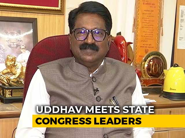 Video : Have No Problems With A 50-50 Formula With Congress-NCP: Shiv Sena's Arvind Sawant