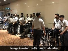 """Anand Mahindra Sparks Debate Over Wheelchair """"<i>Jugaadus</i>"""" In Airports"""
