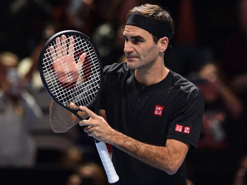 """Roger Federer """"Excited"""" To Play Novak Djokovic After Keeping ATP Finals Hopes Alive"""
