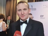 Video : International Emmy Awards: Catching Up With <i>Come Home</i> Actor Christopher Eccleston