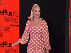 Katy Perry Is A Real-Life Barbie In A Pink Polka Dotted Dress