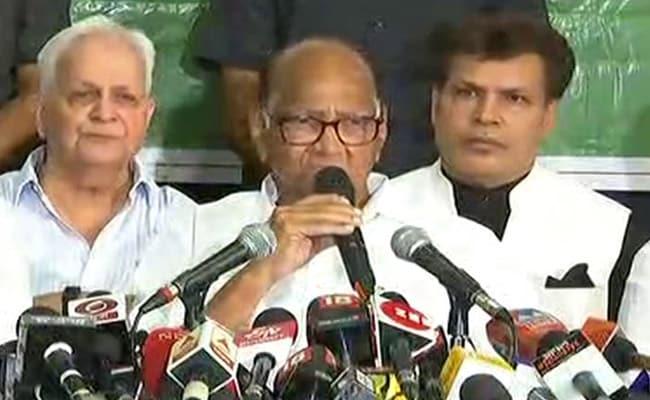 संजय राउत से मुलाकात के बाद बोले NCP चीफ शरद पवार- हम विपक्ष में ही रहेंगे, शिवसेना से नहीं मिला कोई प्रस्ताव