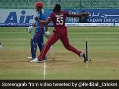 Afghanistan vs West Indies: Kieron Pollard Forces Umpire To Change No-Ball Decision. Watch