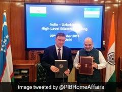 India-Uzbekistan Sign Pact On Counter-Terror Cooperation