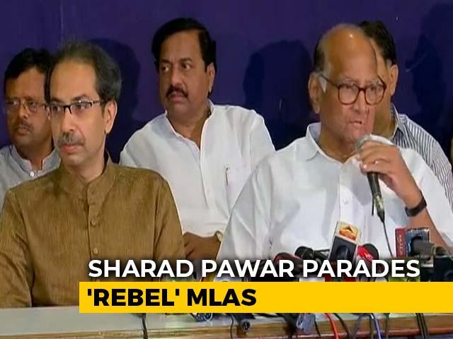Video : Ajit Pawar's Decision Against NCP Policies, Says Sharad Pawar